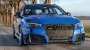 Future classic? Pre-fl AUDI RS3 SPORTBACK in NOGARO blue - A favorite - In detail ( B5 RS4!)