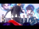 130729 SeXing kissing scene @ China Love Big Concert