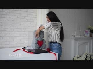 Красивый видео-отзыв и демонстрация Мишки из Роз от Teddy Rose Studio