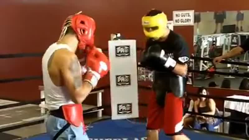 Marcos Maidana sparring ■