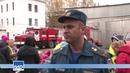 Малыши и огнеборцы. В 21 пожарно-спасательной части прошел день открытых дверей