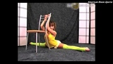 hot girl yoga stretching to maintain flexibility best pose