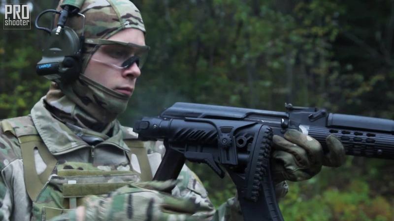 Складной приклад для АКМ M4 AKP Fab Defense
