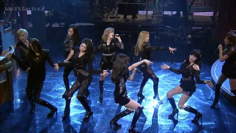 [HD] Girls' Generation - David Letterman - The Boys 1/31/2012 [USA Debut]