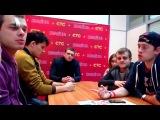 Юлия Маргулис. Cериал СТС «Молодежка»- встреча с главными звездами-актерами сериала(1) (1)