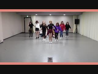IZONE (IZ*ONE) - La Vie en Rose dance practice