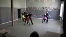 Экзамен по современному танцу - бальная румба, мамбо, ретро
