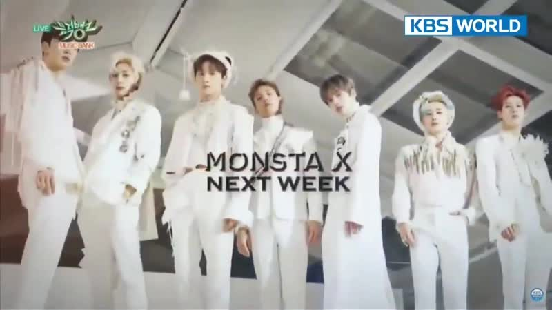 Iiitrei, LOONA, Yoon Ji Sung, SF9, Monsta X, Hyomin - Next Week @ Music Bank 190215