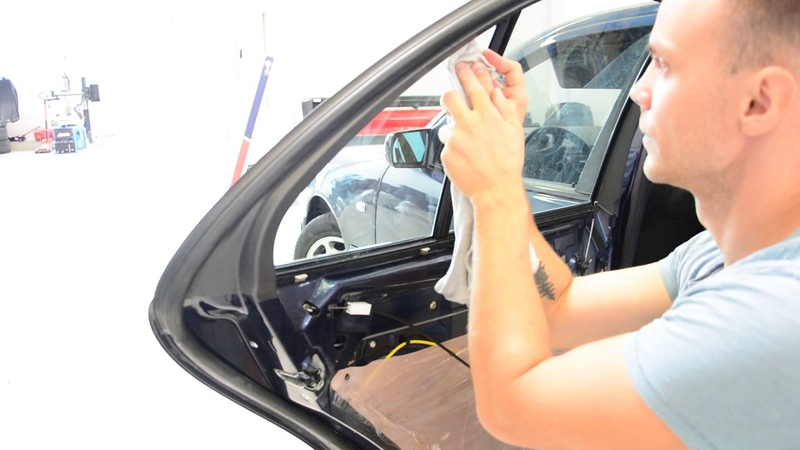 How to tint Mercedes quarter glass