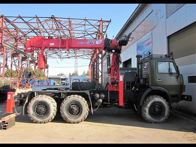 HOTOMI-2656 (аналог ИТ-200-М10000) - БКМ, бурит 12 м, на шасси КАМАЗ, УРАЛ, МСН-10