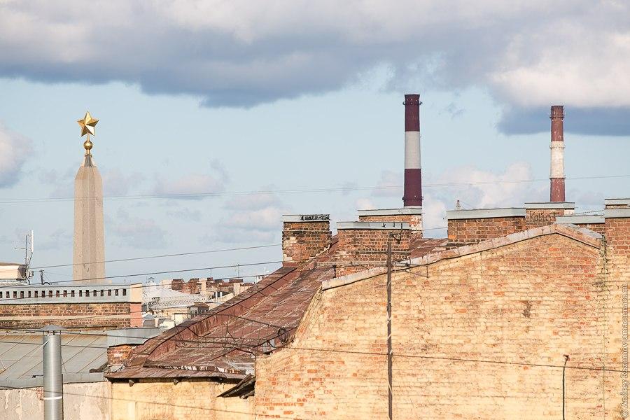 Прогулки по крыше в Санкт-Петербурге площадь Восстания