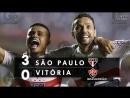 São Paulo 3 x 0 Vitória Melhores Momentos Apito Final HD 60FPS Brasileirão 1