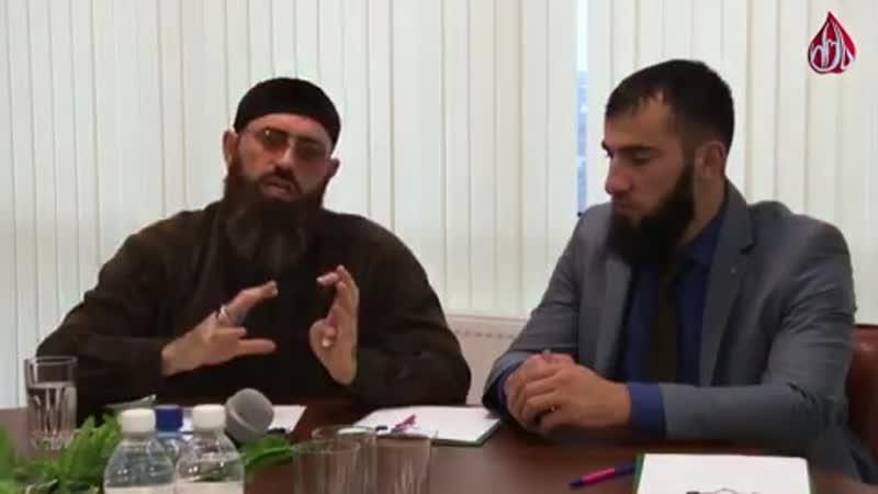 Директор ТРК Путь Адам Шахидов продолжает работать с активной молодежью республики