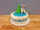 (vk.com/LakomkaVK) Easy Frozen Cake PLUS Fondant Olaf Tutorial