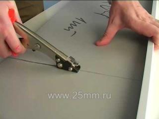 Ручные ножницы для резки профилированного металла