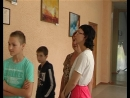 23 мая в школе № 2 г. Комсомольское прошла выставка, на которой были представлены работы художников-комсомольчан