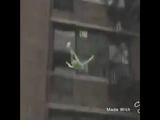 Kermit the frog JUMPS off roof Teaching kids ABCs (Vine)
