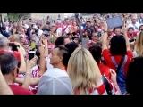 Хорваты на красной площади