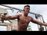 Teen Bodybuilder Mike Muscle Beach HBO and NFL Styrke Studio