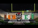 NCAAF 2017  Week 13  Bowling Green Falcons - Eastern Michigan Eagles  1Н  21.11.2017  EN