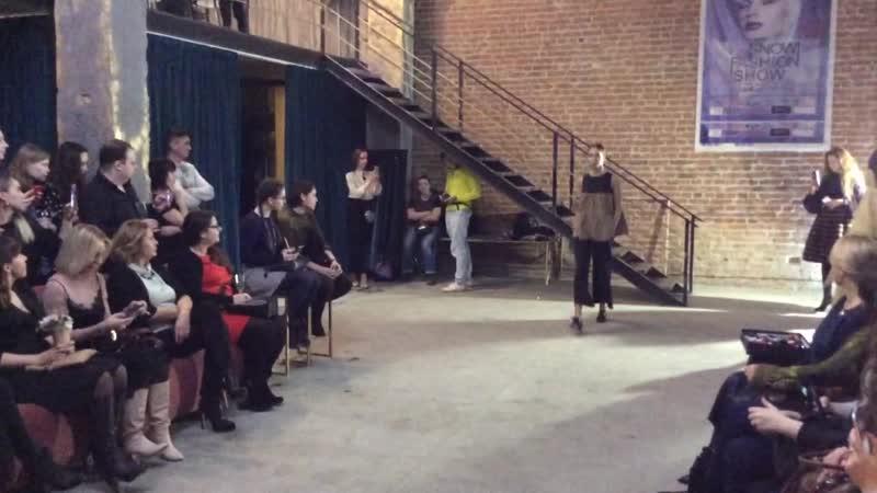 Показ бренда Kozel на Snow Fashion Show