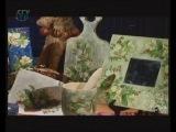 Декупаж кухонной доски, рамочки для зеркала и салфетки. Мастер класс