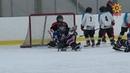 Чебоксарская детская команда по следж-хоккею провела товарищеский матч