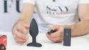 Анальная пробка для ношения с вибрацией Nexus Ace