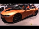 2018 BMW i8 Roadster - Exterior and Interior Walkaround - 2018 New York Auto Show