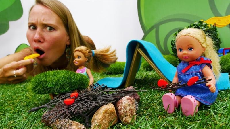 Штеффи отправляется в летний лагерь - Видео для детей