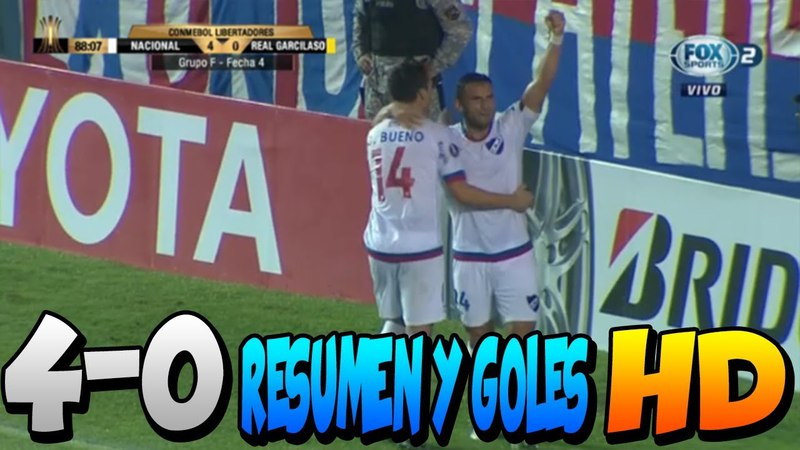 Насьональ Реал Гарсиласо 4 0 КЛ 2018
