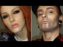 WOMAN TO A MAN MAKEUP TRANSFORMATION TUTORIAL / Girl to boy make-up