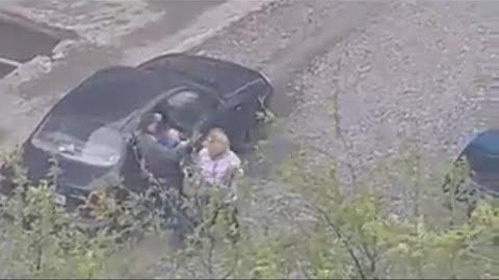 Похищение детей среди бела дня. Real Video