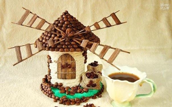 Декоративная коробочка своими руками. Кофейная мельница… (9 фото) - картинка