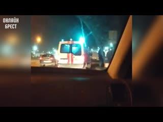 Что-то случилось в Бресте на Березовке возле Санты. Может кто в курсе, что там произошло