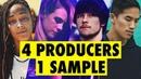 4 PRODUCERS FLIP THE SAME SAMPLE feat. Virtual Riot, Bad Snacks, Sarah the Illstrumentalist
