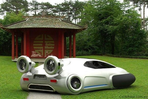 Аква концепт от Volkswagen (Volkswagen Aqua Concept)