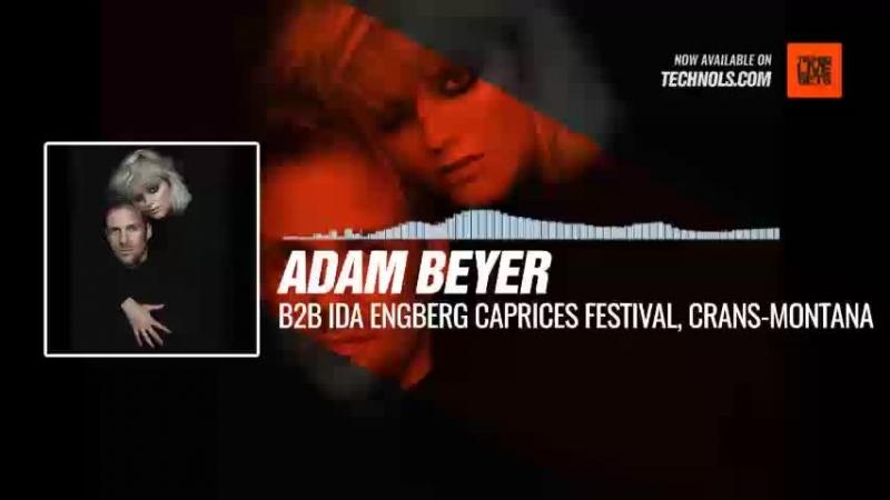 Techno music with @realAdamBeyer B2B @IdaEngberg - Caprices Festival, Crans-Montana Periscope