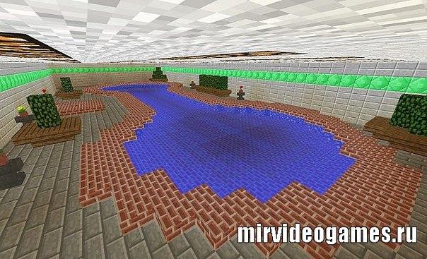 Стиральная машина дом minecraft
