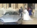 Newlyweds Princess Eugenie Jack Depart Windsor Castle In Aston Martin DB10