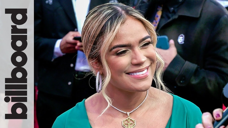 Karol G Opens Up About Anuel Chats About 'Mi Cama' Performance   Latin Grammys 2018