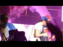 Austin mahone, peyton sanders and alex constancio dancing at the end of the NYC concert 6-22-12