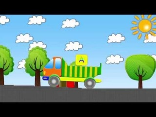 Обучающий мультфильм - учим буквы и звуки - Грузовичок Тима - учимся читать
