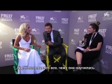 Леди Гага и Брэдли Купер — Интервью для «FRED Film Radio» (RUS SUB)