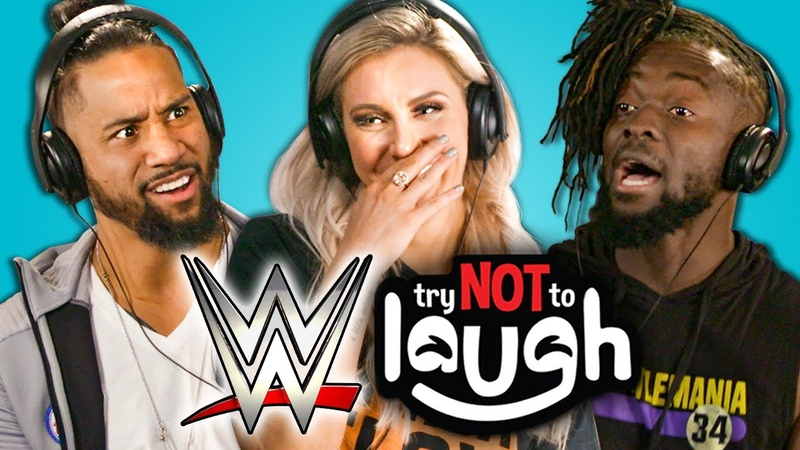 SB_Group  WWE Superstars React To Try Not To Laugh Challenge