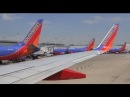 Southwest Airlines Boeing 737-700 Takeoff -- Chicago Midway Airport KMDW / MDW Enroute to LAX