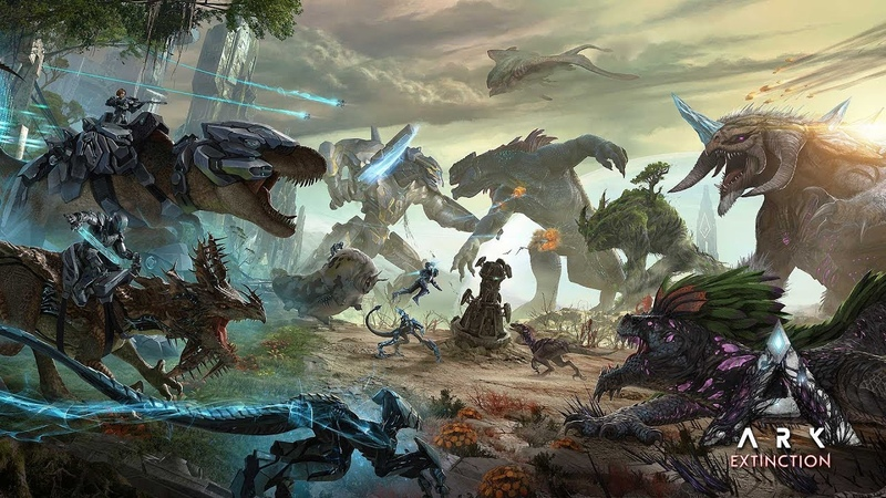 ARK Extinction Expansion Pack Launch Trailer!