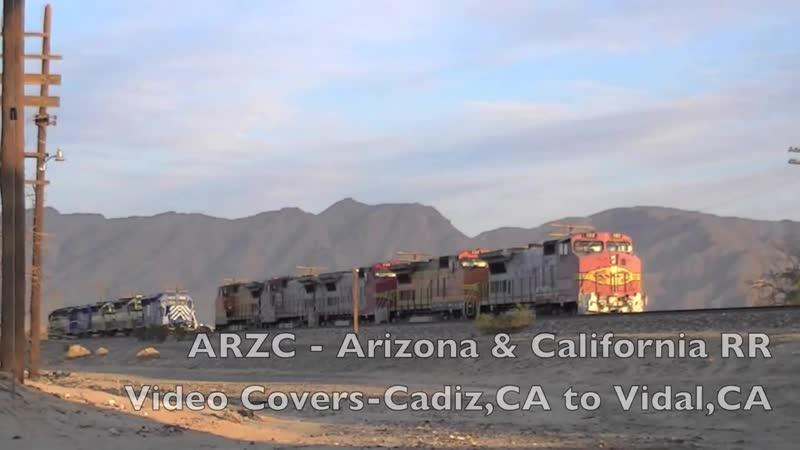 Arizona California Railroad Late 2012 and Early 2013