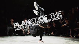 PLANET OF THE MONSTER BBOY POWERTRICKS [ALL TIME]