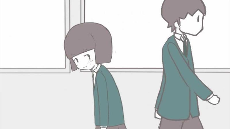 自主作成アニメーション「いと恋し」